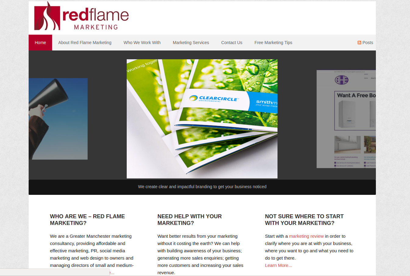website builder for tradesmen Bolton