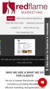 web design for tradesmen Bolton Lancashire UK